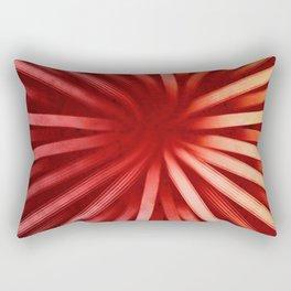 Intersecting-Red Rectangular Pillow