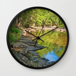 Loyalsock Creek Wall Clock