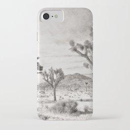 Joshua Tree Grey By CREYES iPhone Case