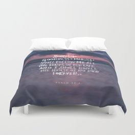 Goodness & Mercy Duvet Cover