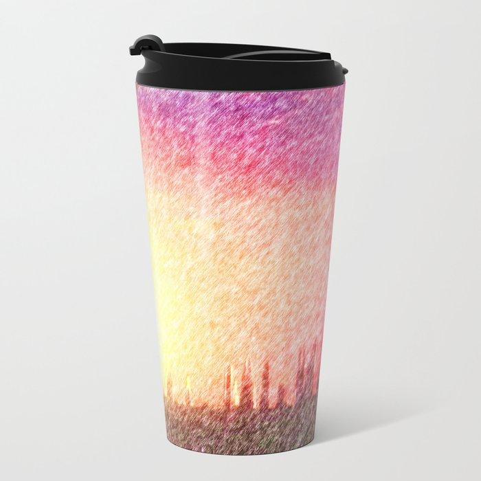 Alteran sunset Metal Travel Mug