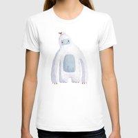 yeti T-shirts featuring Yeti by Villie Karabatzia
