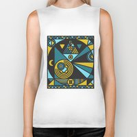 witchcraft Biker Tanks featuring Witchcraft Alchemist by thedeadprocession