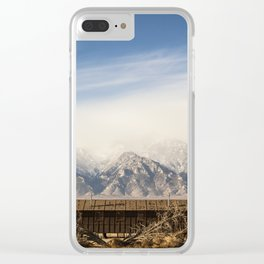 Manzanar Internment Camp, Highway 395, Independence, CA Clear iPhone Case