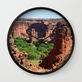 Canyon de Chelly View Wall Clock