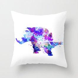 Stegosaurus Dinosaur Throw Pillow