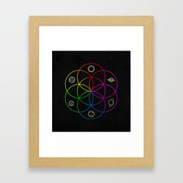 Seed of Life Framed Art Print