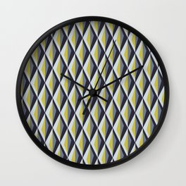 Geometric 2 Wall Clock