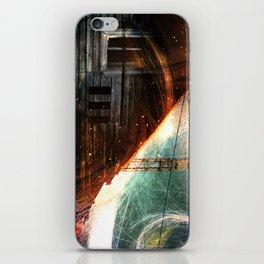 Derelict window iPhone Skin