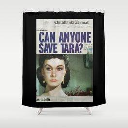 Scarlett 'O Hara Shower Curtain