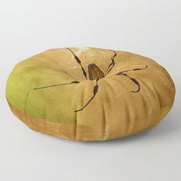 Banana Spider Floor Pillow