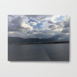 sea of palermo / port Metal Print