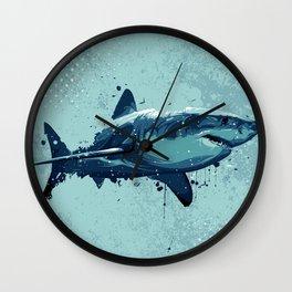 Guppy   Great White Shark Wall Clock