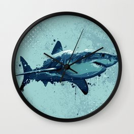 Guppy | Great White Shark Wall Clock