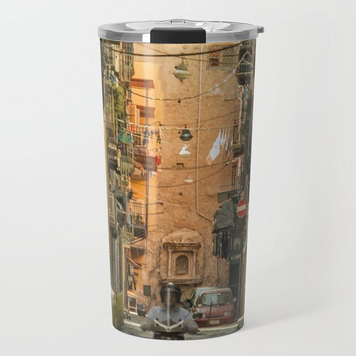 Neapolitan Moto Travel Mug