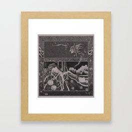 Dirty Birdie Framed Art Print