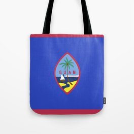 Guam flag emblem Tote Bag