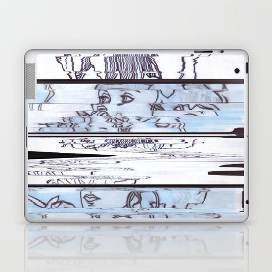 Autistic Remix #002 Laptop & iPad Skin
