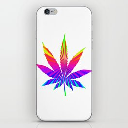 Cannabis Rainbow Design (117) iPhone Skin