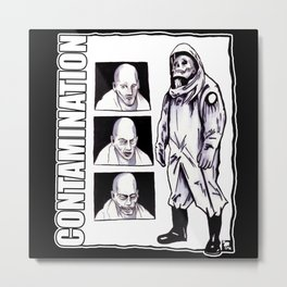 Contamination // I Know How You Feel Metal Print