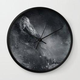Finrod crossing the Helcaraxe Wall Clock