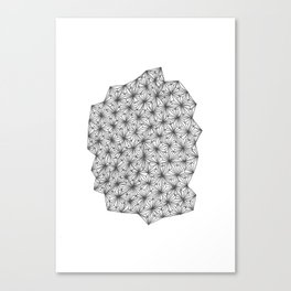 Geometric 0.4 Canvas Print