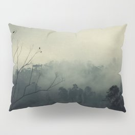 moody fog mountain Pillow Sham