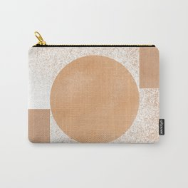Rectangles meet, an extreme minimal approach Carry-All Pouch
