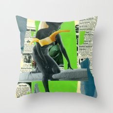 Venus (collaboration with the masterly Marko Köppe)  Throw Pillow