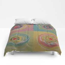 Colorful Canapes Comforters