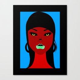 chola lady Canvas Print