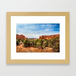 Kodachrome Basin State Park, Utah, USA Framed Art Print