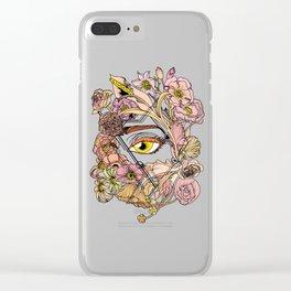 Hidden Beauty Clear iPhone Case