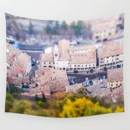 Miniature country San Marino Wall Tapestry