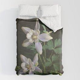 Columbine Flower Photograph Comforters