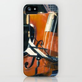 Jazz Abstraction iPhone Case