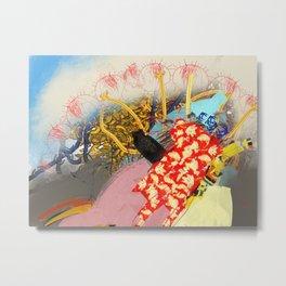 Big Red&Bananas Metal Print