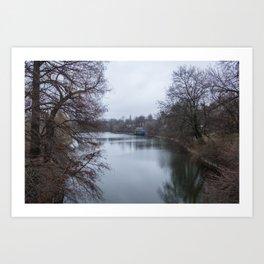 București river Art Print