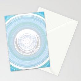 Ebb and Flow - Aqua Stationery Cards