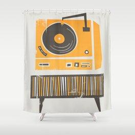 Vinyl Deck Shower Curtain