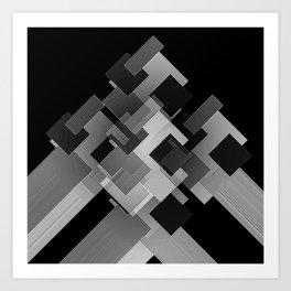 High End Corner Unit Art Print