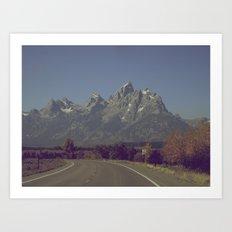 Speed Limit 55 Art Print