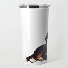 Bernedoodle  Travel Mug
