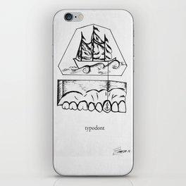 typodont. iPhone Skin