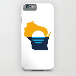 Wisconsin - People's Flag of Milwaukee iPhone Case