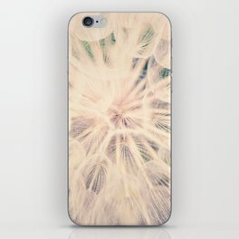 Macro Dandelion iPhone Skin