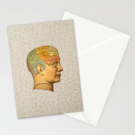Phrenology | A Picture of Good Health circa 1881 Stationery Cards