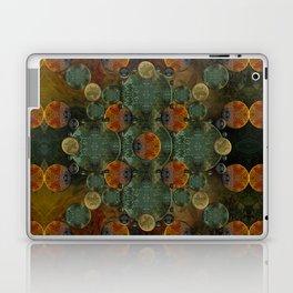 """Glass candy Mosaic (caramel pattern)"" Laptop & iPad Skin"