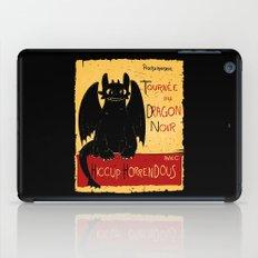 Dragon noir iPad Case