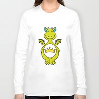 dino Long Sleeve T-shirts featuring dino ♥ by Walkie Talkie Girl